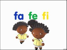 DISCOVERY KIDS // EDUCACIÓN SINTÉLICA / FELIPE. Silabas fa, fe, fi, fo, fu. Short 30 ish seconds video.