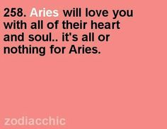 Aries will love you with all of their heart and soul. it's all or nothing for Aries. Aries Ram, Aries And Pisces, Aries Love, Aries Astrology, Aries Sign, My Zodiac Sign, Astrological Sign, Aries Zodiac Facts, Frases