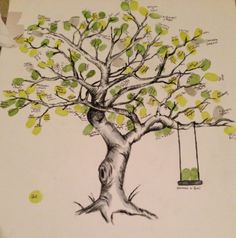 tree pictures guest book - Google Search