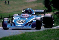 1976 GP Niemiec (Nurburgring) Ligier JS5 - Matra (Jacques Laffite)