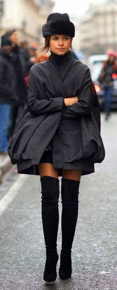 Miroslava Duma's Parisian Chic.  #fashion #coupon code nicesup123 gets 25% off at  Provestra.com