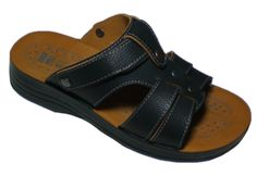 Polyurethane Based Instep Artificial Leather Cheap Men Sandals