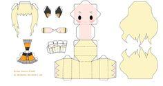 Chibi Vocaloid SeeU Papercraft by tsunyandere on DeviantArt