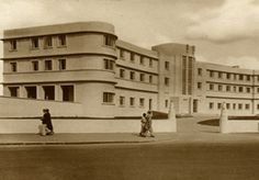 The Midland Hotel, Morecambe, designed by Oliver Hill, 1936 (via The Modern House Estate Agents)
