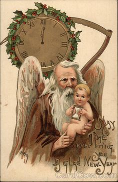 May Time ever bring you a Glad New Year H.B. Griggs (HBG)
