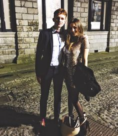 Jojo and I looking fresh&cool for the #Trinityball @josephhayes_  #trinityball2016 #partnersincrime #yesjoe #beforeshifting #wedontknowwhathappedlater #lookinggood #beauxgosses #toujours by elleigiv