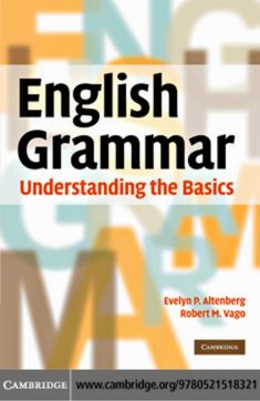English Grammar: Understanding the Basics Free Download Pdf Book