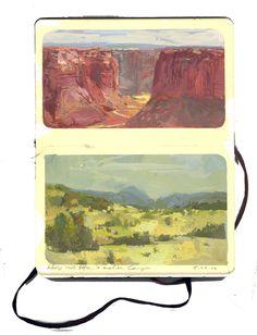 Andrew Hem - Moleskine USA #moleskine #Illustration #nature #usa