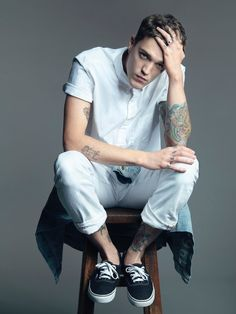 Josh Beech Fronts GAP China Spring 2014 Campaign encerio muy bello
