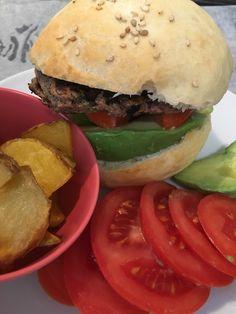 Burgers maison (vegan) Burgers, Hamburger, Vegan, Ethnic Recipes, Food, Cooks Illustrated Recipes, Hamburgers, Meals, Yemek