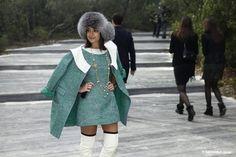 Miroslava - like a little Chanel doll!