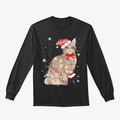 Discover Pixiebob Cat Christmas Light Xmas Mom Da T-Shirt, a custom product made just for you by Teespring. With world-class production and customer support, your satisfaction is guaranteed. - Celebrate Christmas in style...! Enjoy the... Merry Christmas Meme, Christmas Cats, Christmas Lights, Christmas Sweaters, Xmas, Egyptian Mau, Pixie Bob, Customer Support, Just For You
