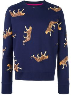 Ps By Paul Smith cheetah print sweatshirt