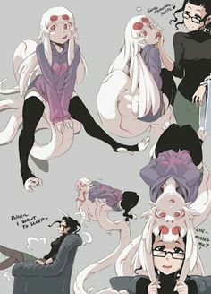 Hushabye Valley is creating Comics and Monster Girls Anime Alien, Anime Art, Cute Anime Character, Character Art, Monster Girl Encyclopedia, Snake Girl, Alien Girl, Cute Alien, Anime Monsters