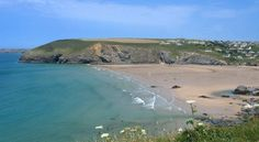 Mawgan Porth and the pretty village of St. Mawgan sit in the perfect location. Cornwall.