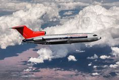 Northwest Airlines, Boeing 727, Commercial Aircraft, Civil Aviation, Air Travel, North West, Airplanes, Sailing, Vintage Airline