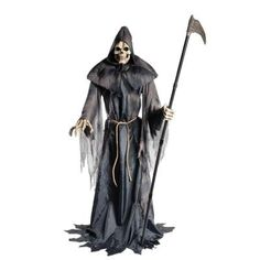 Home Accents Holiday 6 ft. Animated Lurching Reaper