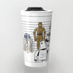 Star Wars Droid Lineup Travel Mug