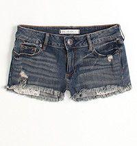 Basic Fray Hem Shorts  #bullheadblack #pacsun