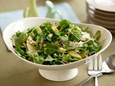 Get Pear and Blue Cheese Salad Recipe from Food Network