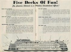 Admiral list of decks