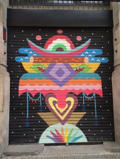 street art, barcelona, spain
