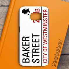 Baker Street 221B Sign Samsung Galaxy S7 Case | casefantasy