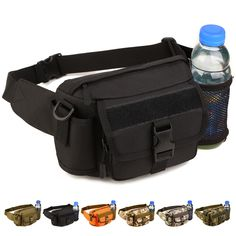 man street style Outdoor sports Waist packs Nylon Camo Shoulder bag Multi-purpose Climbing Travel Camping Hunting Cycling Tactical Bag ~ Clicking on the VISIT button will lead you to find similar product