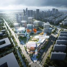 Benoy to deliver Alibaba Jiangsu Headquarters Office Building Architecture, Facade Architecture, Amazing Architecture, Futuristic City, Futuristic Architecture, Sustainable Architecture, Mix Use Building, Building Design, Panorama City