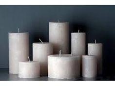 Afbeeldingsresultaat voor schaal met witte kaarsen
