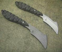 The Ultimate Knives' hawkbill knives