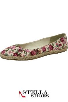 Spring Floral Ballet Flats