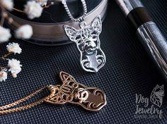 Chihuahua necklace chihuahua jewelry chihuahua от ArtDogJewelry