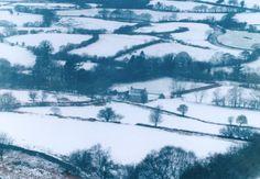 UK in the winter. So pretty.
