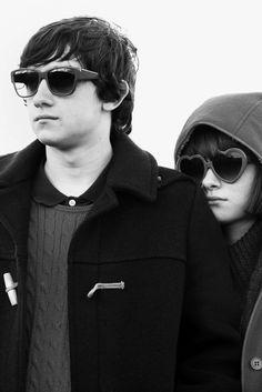 """Oliver (Craig Roberts) y Jordana (Yasmin Paige), protagonistas de """"Submarine"""" (2010)."""