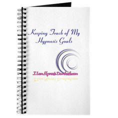 Hypnosis Goals: A Great journal for keeping track of all of your hypnosis goals.  Enjoy!