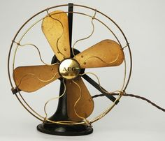 Antique German Electric Fan by Peter Behrens for AEG Circa 1908