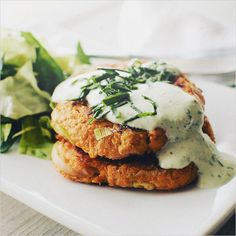 Sweet Potato Cakes / Sprouted Kitchen