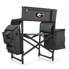 University of Georgia Fusion Portable Outdoor Chair w/Digital Print
