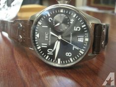 IWC BIG PILOT White Gold Automatic IW 500402