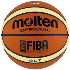 erh/ältlich in 3/Gr/ö/ßen Carta Sport Molten Basketball Official orange -orange-Size 5