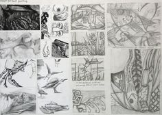 GCSE-art-sketchbook-ideas
