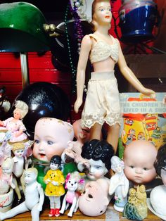 Dolls come in all shapes & sizes !