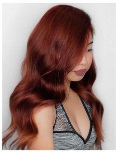 red auburn hair color