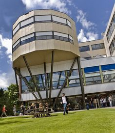 Heymans building, Faculty of Behavioural and Social Sciences, University of Groningen, The Netherlands Dream School, Sea Level, The Province, Social Science, Capital City, Holland, Amsterdam, River, Building