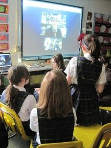 Information about Skyping with authors in the classrooms - tips and websites to get you started.
