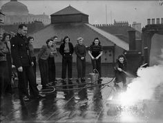 25 Stunning Vintage Photographs Of Female Firefighters