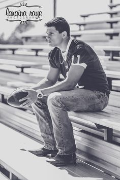 Senior Boy Senior Pictures Senior Ideas for Boys High School Football Laraina Hase Photography Football Poses, Football Senior Pictures, Senior Year Pictures, Volleyball Pictures, Cheer Pictures, Sports Pictures, Homecoming Pictures, Softball Pics, Senior Photography