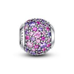 2016 New Multi Color Paved Crystal Charm Fits Pandora & Chamilia Bracelet