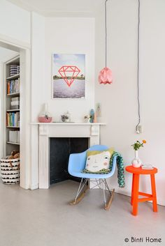 Going Dutch with white and splashes of colour. Binti Home.